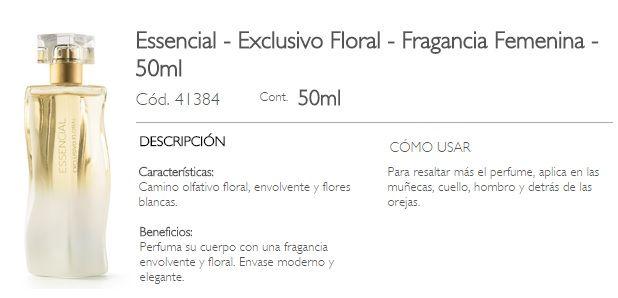 ESSENCIAL -  EXCLUSIVO FLORAL