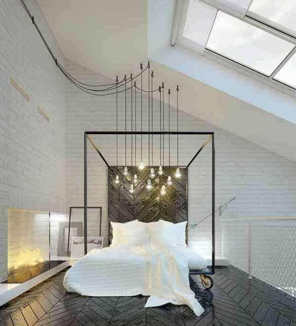 Oltre 25 fantastiche idee su illuminazione camera da letto su pinterest lampada da comodino - Lampade a sospensione per camera da letto ...