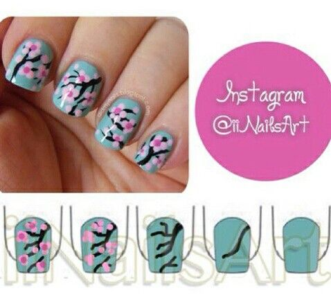 44 best images about how to nail designs on pinterest nail how to do nail art prinsesfo Gallery