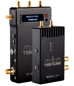 Teradek Bolt Uncompressed Wireless Video Transmitter with Zero Delay | HD-SDI or HDMI Models Available | Teradek, LLC | Wireless HD Video