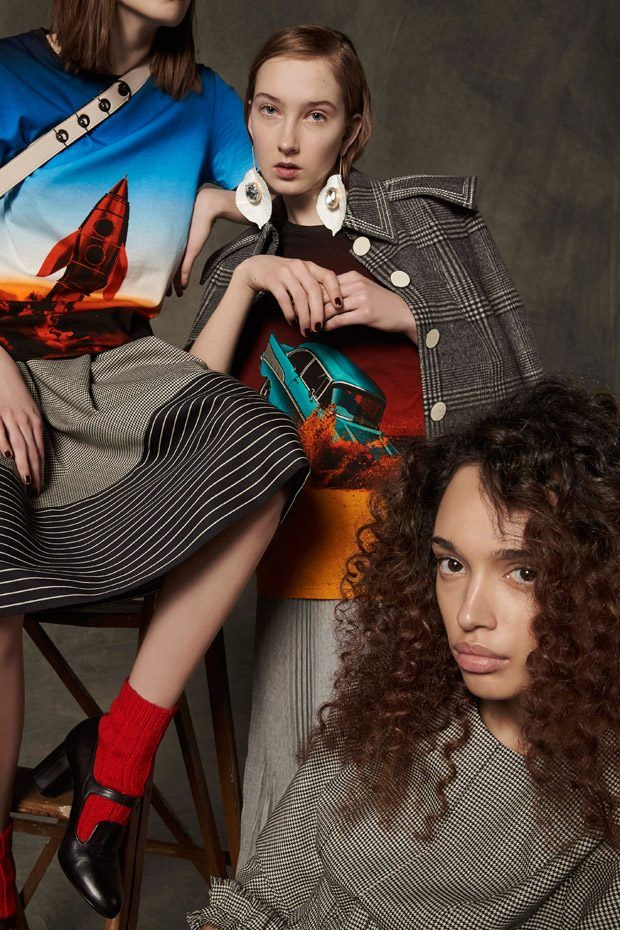 Marco De Vincenzo Pre-Fall 2017 Lookbook by Oskar Cecere