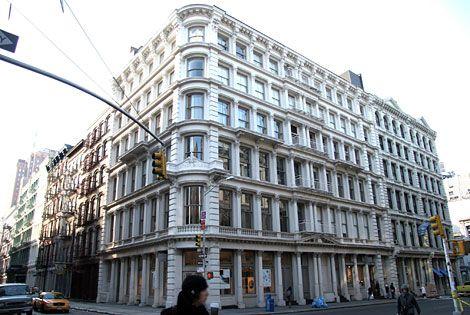Soho - typical exterior of a Soho building.