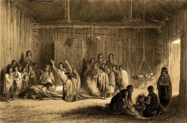 Machitún mapuche. Atlas de la historia física y política de Chile. http://www.guioteca.com/patagonia/la-machi-simbolo-de-la-patagonia-misteriosa-y-magica/