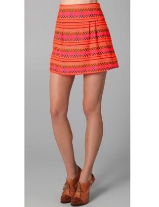 Tangerine Dream  Kenny Guadalajara Skirt, $100.80, shopbop.com