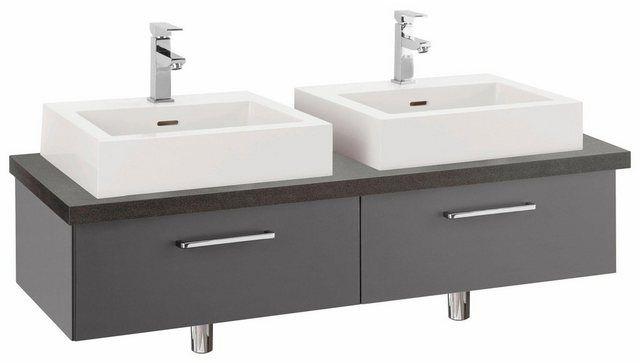 Doppel Waschtisch Doha Mit Soft Close Funktion Aufsatzbecken