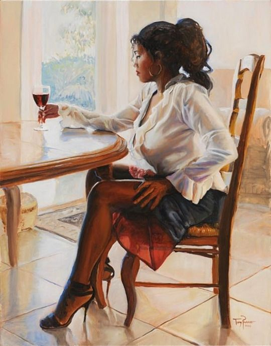 Black Women Art...Artist Tony Pavone