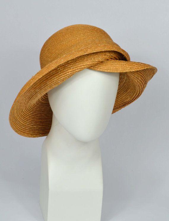 Capeline sombrero sombrero de paja estilo por LaurenceLeleuxHats