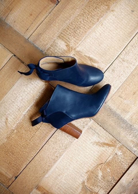 Sézane / Morgane Sézalory - High farrow boots #sezane #highfarrow