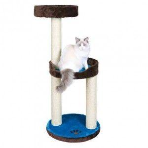 Drapak dla kota 'Lugo' 103 cm brązowy/ niebieski