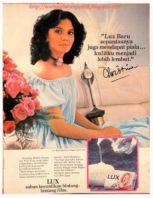 Iklan Lux Christine Hakim