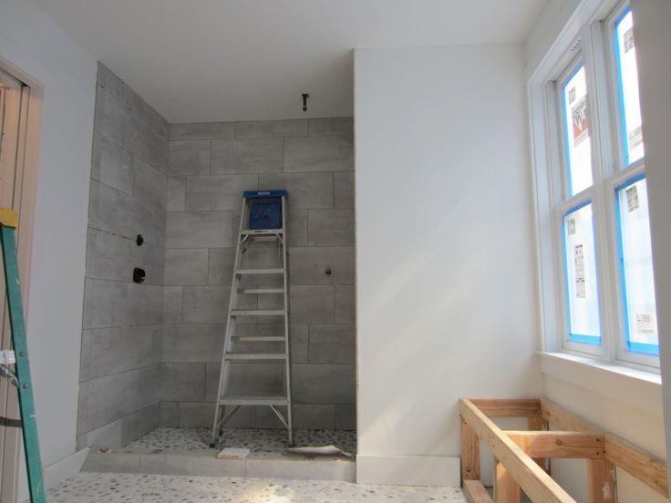 12x24 staggered horizontal tile shower steiner ranch