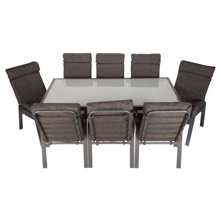 Impex Pemberton 9 Piece Dining Setting