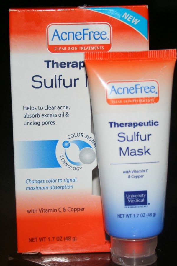 Crazy Beautiful Makeup: Acne Free Therapeutic Sulfur Mask-Review and Demo