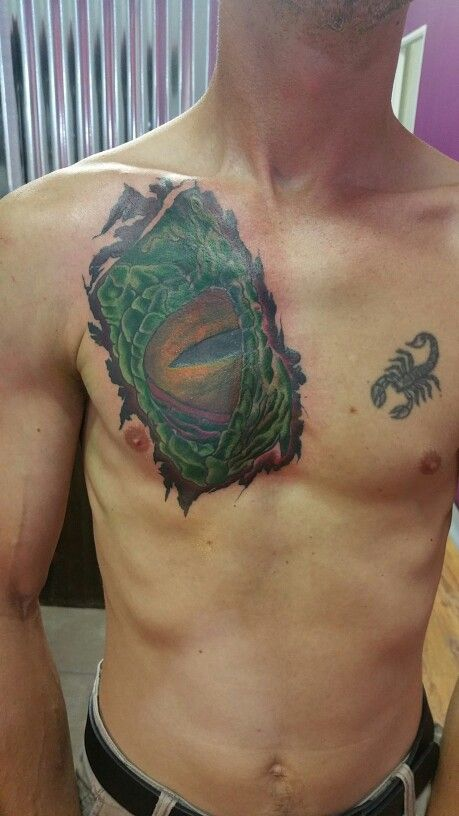 Dragon eye ...cover up project