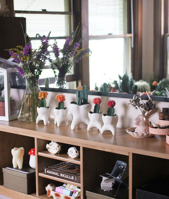 tooth planters.