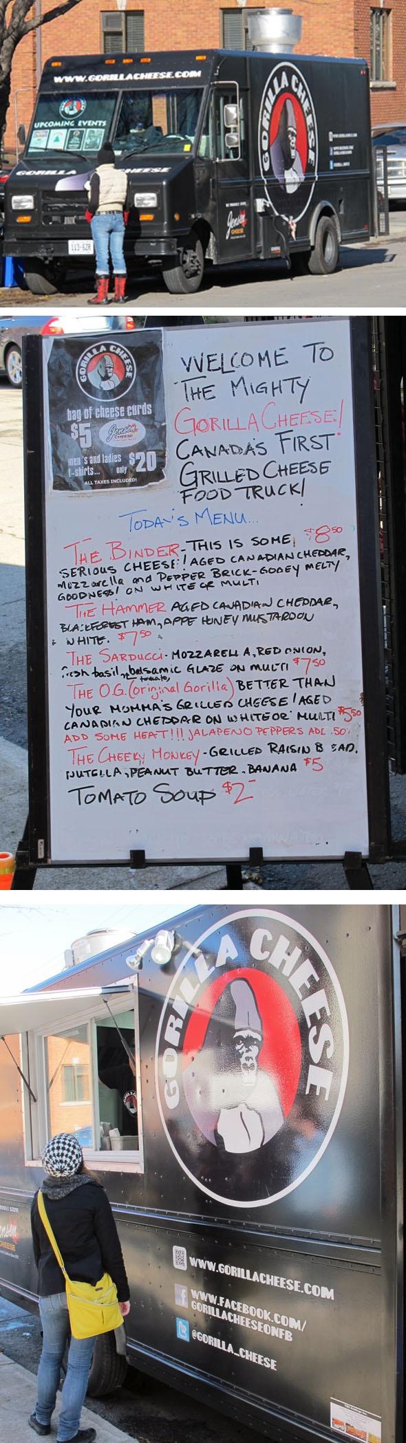 Gorilla cheese food truck #HamOnt