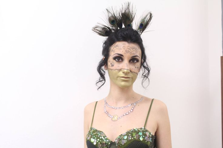 LACE MASK MAKE UP BY ME...  Giuliana Di Miceli Make up