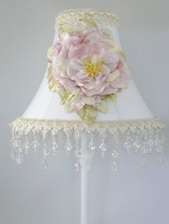735 best shabby chic lampshades images on pinterest chandeliers whimsical imaginings incorporating beadedfringing velvetflowers shabby chic lampsromantic aloadofball Choice Image