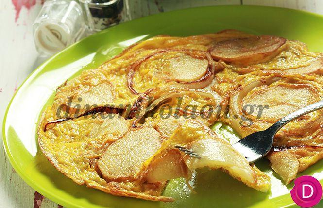 Ομελέτα με πατάτες | Dina Nikolaou
