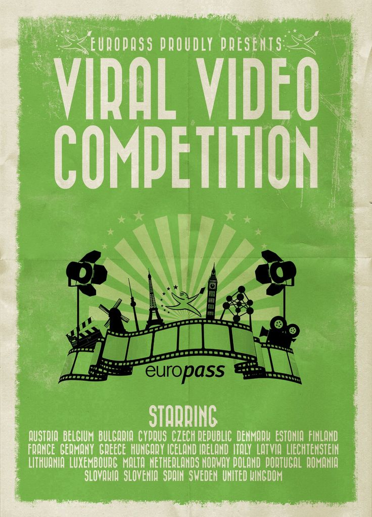 Participate in the 2014 #Europass Viral Video Competition: COMPETITION WILL OPEN 1st of SEPTEMBER! Good luck! http://europass.cedefop.europa.eu/fi/video-competition