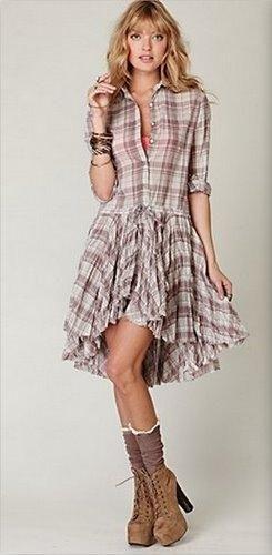 Vestido Country Xadrez, Fotos e Modelos                                                                                                                                                     Mais