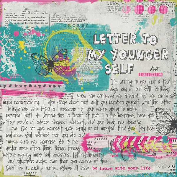 Letter to My Younger Self (What kind