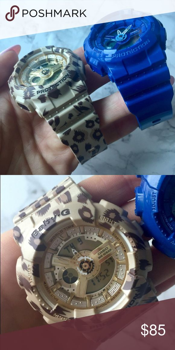 Baby G Shock Watch Like new baby g! Works perfectly... just don't like wearing watches. baby G Accessories Watches