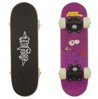 No Fear Micro 'Purple Blobby' Skateboard für Kinder