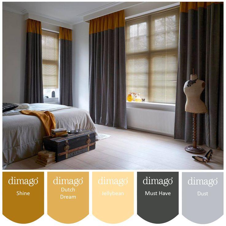 Oker geel de kleur van dit najaar! Deze kleuren kunnen wij, Deco Home Bos mengen in verschillende verven. www.decohomebos.nl