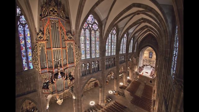 La cathédrale Notre-Dame de Strasbourg (Alsace, France) est un haut lieu d'histoire et de spiritualité que nous fait visiter Stéphane Compoint, à l'aide de son ballon-photo dirigeable.