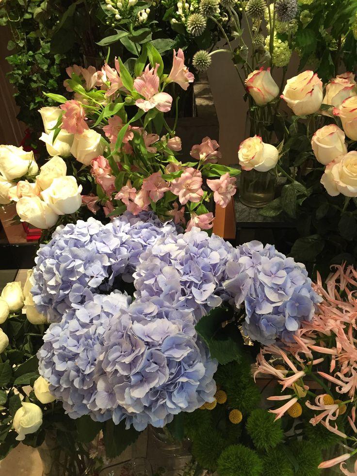 Hong Kong, China. Florería del Hotel.
