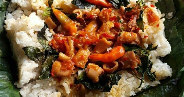 Nasi Bakar Pedas Isi Cumi Asin Sambalado Cumi Resep Resepkoki Resep Resep Makanan Masakan Indonesia Masakan