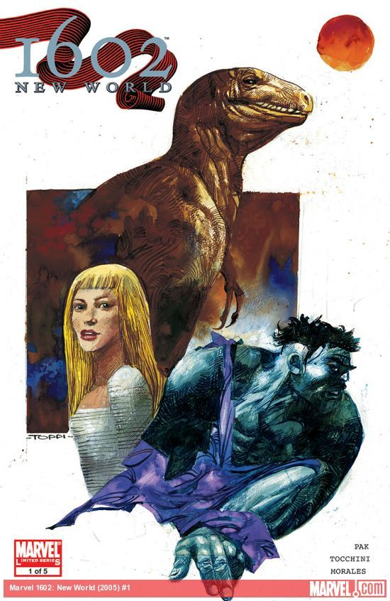 MARVEL 1602: NEW WORLD (2005) #1