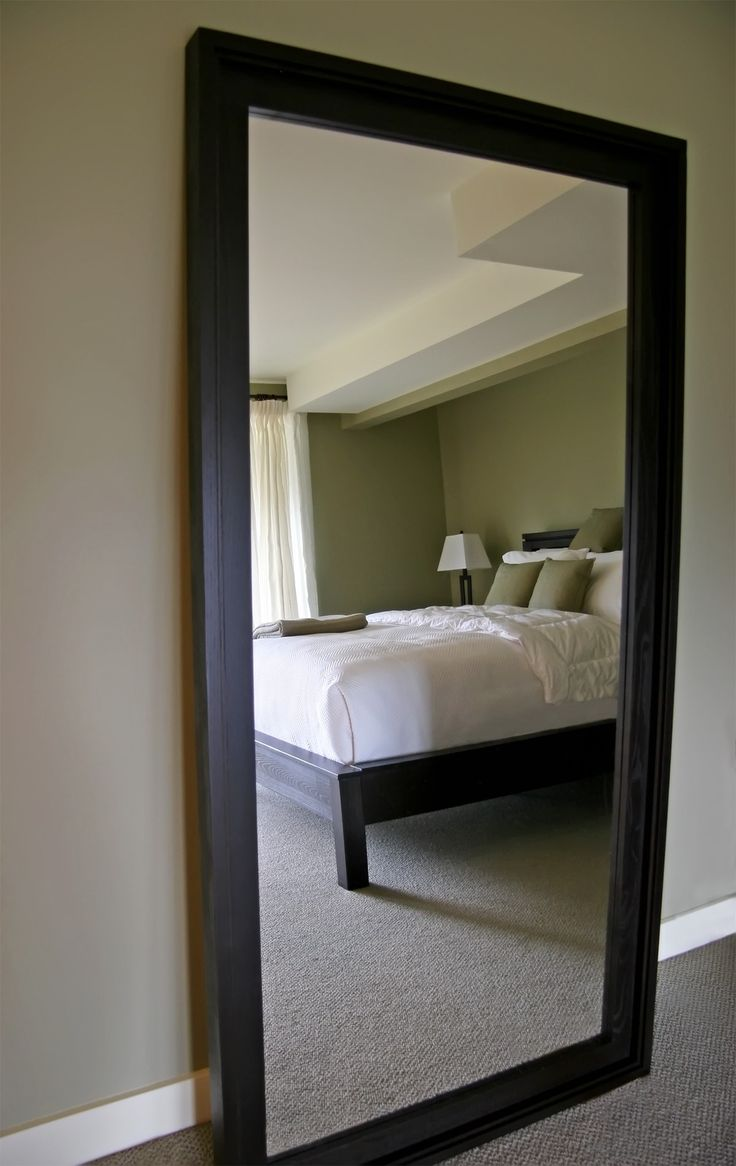 Buy vancouver expressions linen mirror rectangular online cfs uk - Full Length Wall Mirror Safety Glass