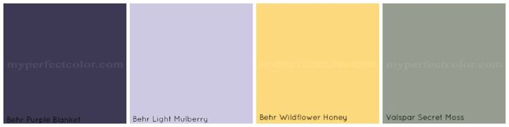 yellow and purple weddings   Wedding Colour Palette Options….I need feedback!   Building This ...