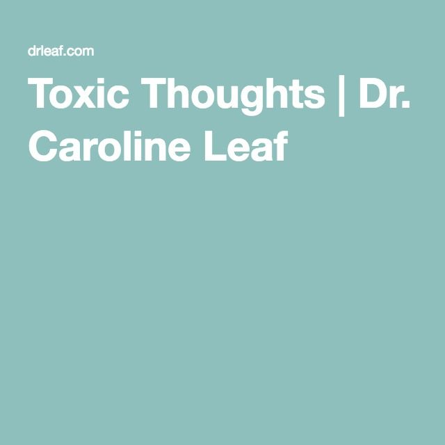online shopping sales tax law Toxic Thoughts   Dr  Caroline Leaf
