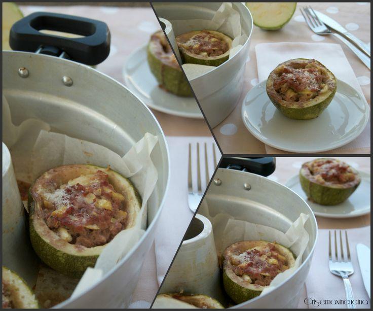 Zucchine ripiene cotte nel fornetto Versilia
