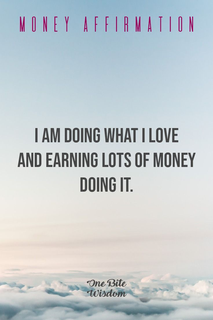 Wealth Affirmations To Attract Money