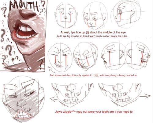 Art Tutorials http://art-tutorials.tumblr.com/post/65050752214/polararts-the-lip-tutorial-the-final ✤ || CHARACTER DESIGN REFERENCES | キャラクターデザイン | çizgi film • Find more at https://www.facebook.com/CharacterDesignReferences http://www.pinterest.com/characterdesigh if you're looking for: bandes dessinées, dessin animé #animation #banda #desenhada #toons #manga #BD #historieta #sketch #how #to #draw #strip #fumetto #settei #fumetti #manhwa #anime #cartoni #animati #comics #cartoon || ✤