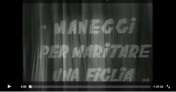 Buon compleanno, Gilberto Govi (nato il 22 ottobre 1885) ~~~ «Maneggi per maritare una figlia» (integrale)