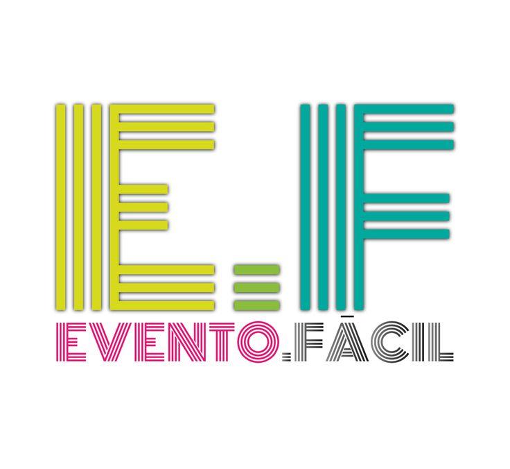 Diseño y Desarrollo de Marca. Cliente: Evento.Fácil.  #Brand #Logo #Advertising