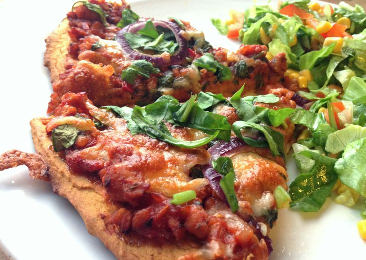Sweet potato pizza...