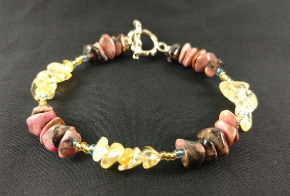 Handmade Crystal Bracelet for Confidence Energy