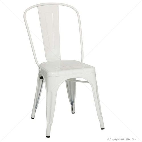 Tolix Premium Chair - Xavier Pauchard Reproduction - White