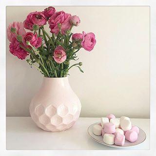 Kmart soft pink vase