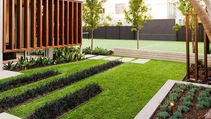 50+ Incredible Calming Minimalist Garden Design Ideas / FresHOUZ.com