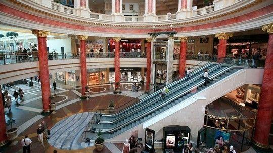 Trafford shopping centre