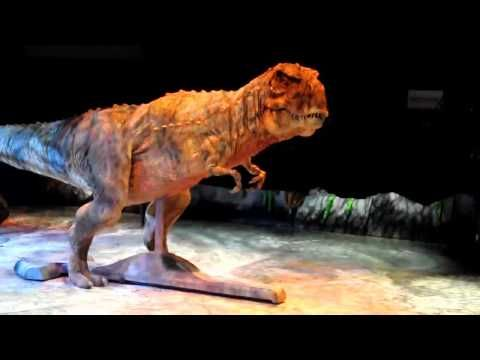 ▶ Walking With Dinosaurs - Live Tour - Cedar Park Texas - YouTube