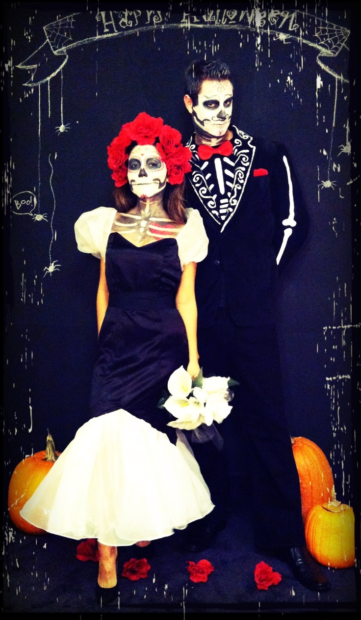diy da de los muertos costumes and photo booth by carolina ro art halloween - Where Does The Halloween Celebration Come From
