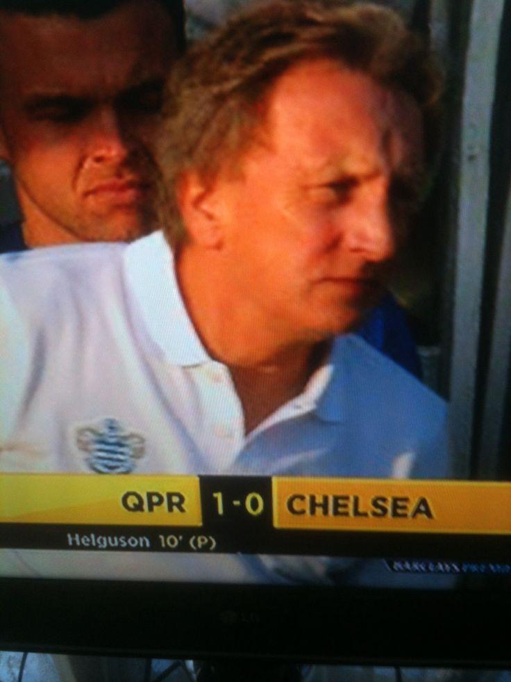QPR . 1-0 win vs Chelsea